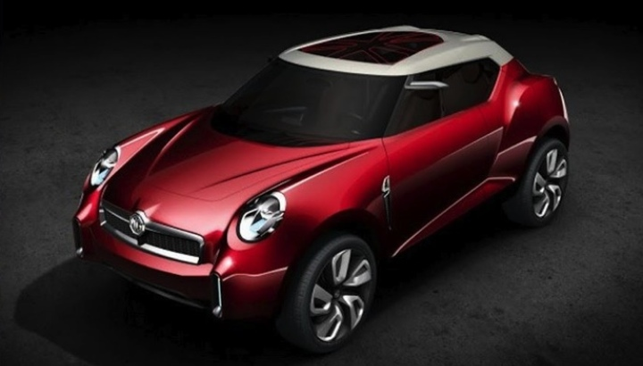 MG Icon Wins Best Concept Award in Beijing