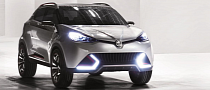 MG Previews Future Compact SUV in Shanghai