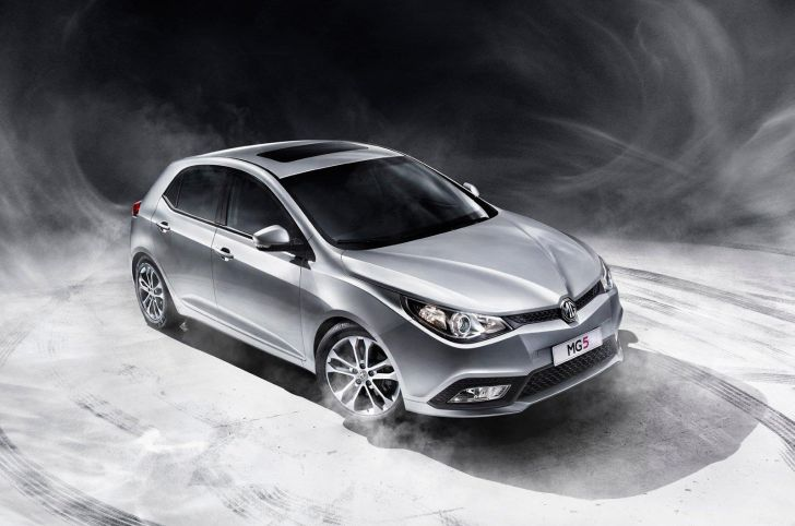 MG5 Sedan in the Works