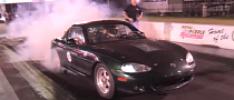 Miata Electric Dragster Is Fast Yet Funny [Video]