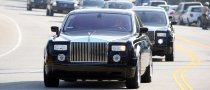 Michael Jackson's Motorcade Sponsored by Range Rover, Rolls Royce