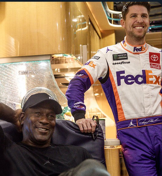 Michael Jordan, Denny Hamlin Start Nascar Team With Driver Bubba Wallace