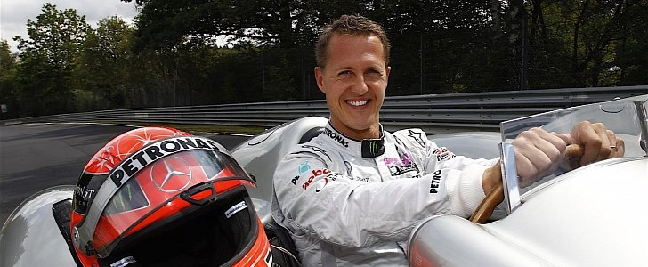 michael schumacher 39 private f1 collection will go on. Black Bedroom Furniture Sets. Home Design Ideas
