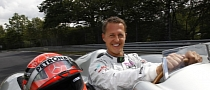 Michael Schumacher to Drive Formula 1 Silver Arrow at the Nurburgring