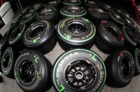 Bridgestone F1 tires