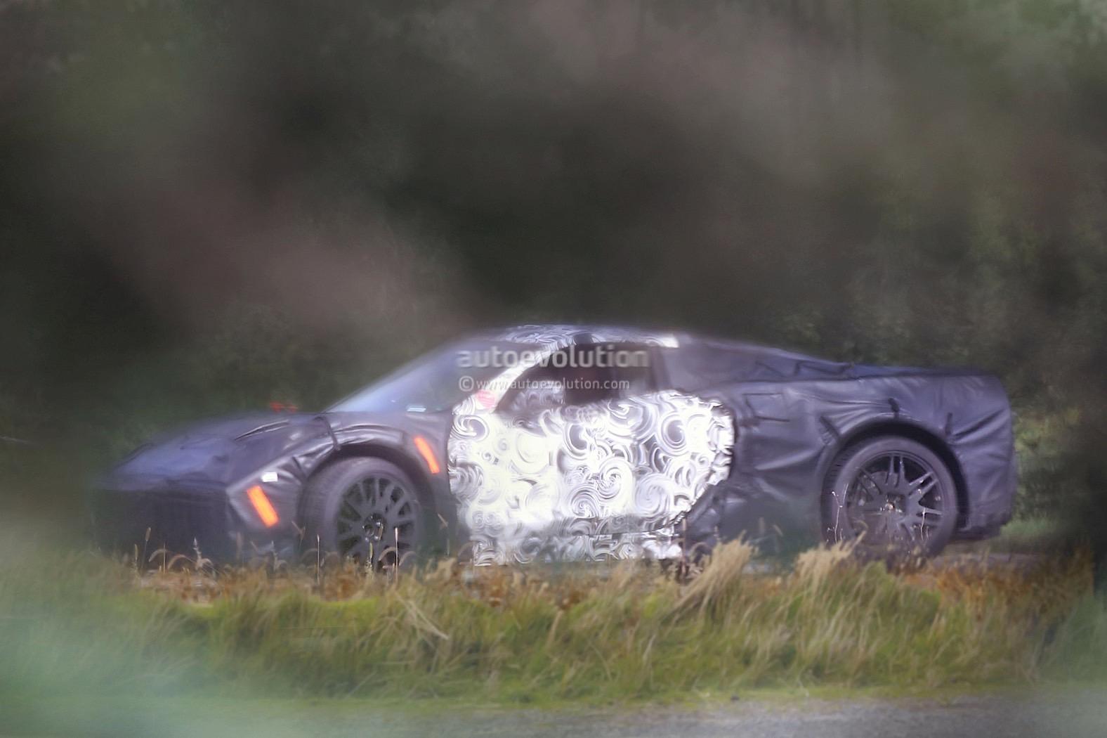 Mid-Engine 2019 Chevrolet Corvette Zora Shows More of Its ...