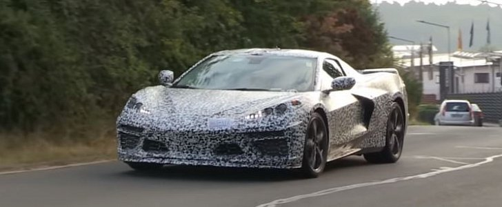 Mid Engine Corvette C8 Likely To Debut Next Summer