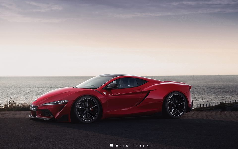 ecfc9a50d00b Mid-Engined 2020 Toyota Supra Rendered
