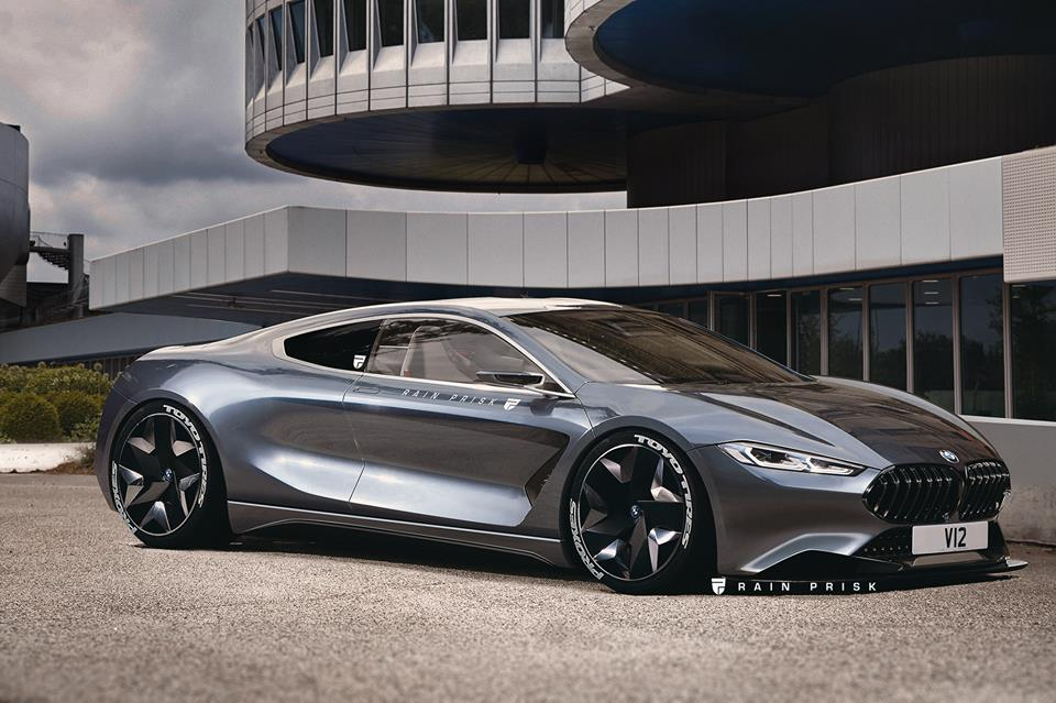 Mid Engined Bmw M8 Rendered As Next Generation Model Looks Stunning Autoevolution