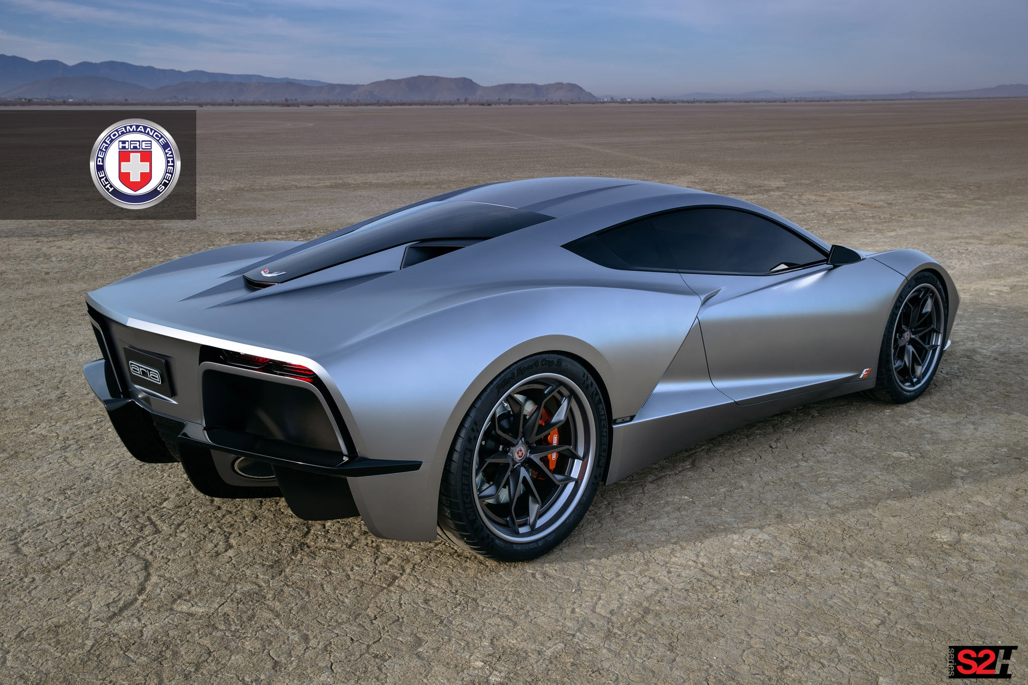 Mid Engined Corvette Quot Fast Eddy Quot Shows Hre Wheels In The