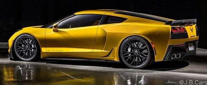 Mid Engined Corvette Rendered Hybrid Rumors Grow