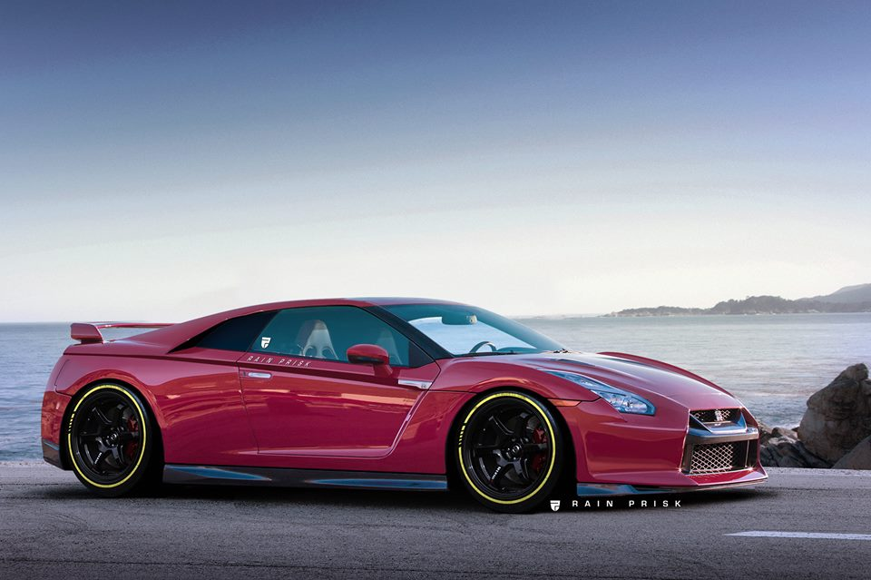Mid Engined Gt R Rendered As The Supercar Nissan Never