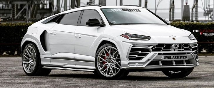 Mid Engined Lamborghini Urus Coupe Rendering Looks A Supercar Not An Suv Autoevolution