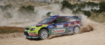 Mikko Hirvonen Crashes Out of Rally Jordan