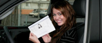 Miley Cyrus Gets Driver's Permit