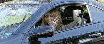 Miley Cyrus Loves Peace and Her SL550 Benz