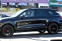 Miley Cyrus Spotted in Black Porsche Cayenne GTS