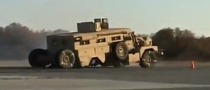 Military Vehicle Fails Brake Test: Axle Comes Out [Video]