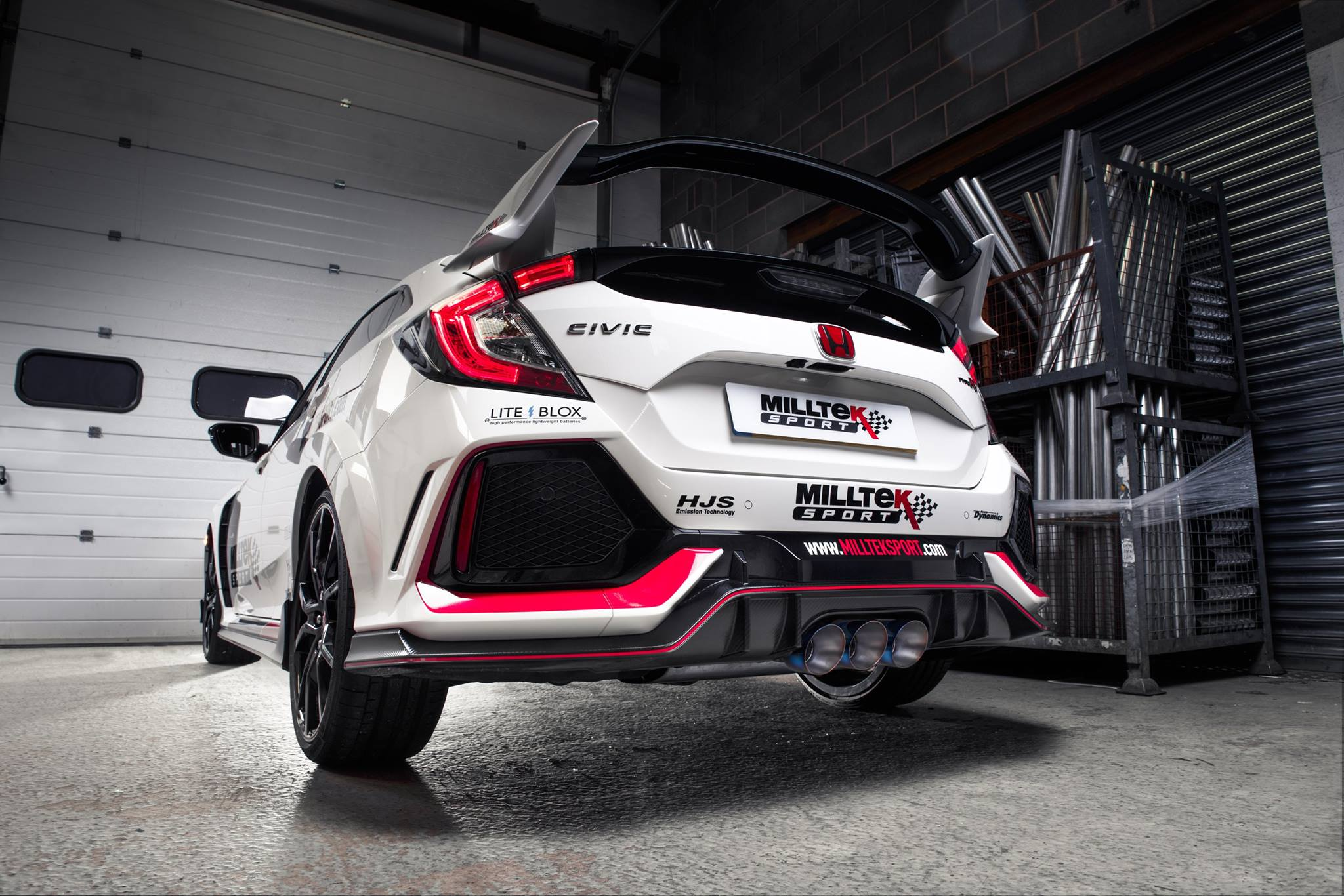 Beautiful Milltek Buys 2018 Honda Civic Type R, Makes Killer Exhaust