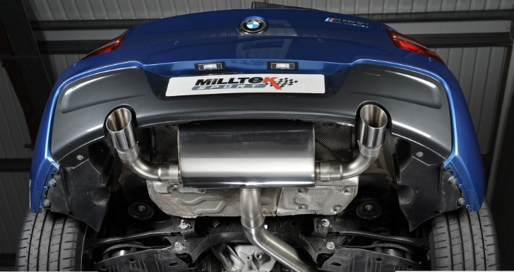 Milltek Performance Exhaust for BMW M135i Brings Massive Improvements