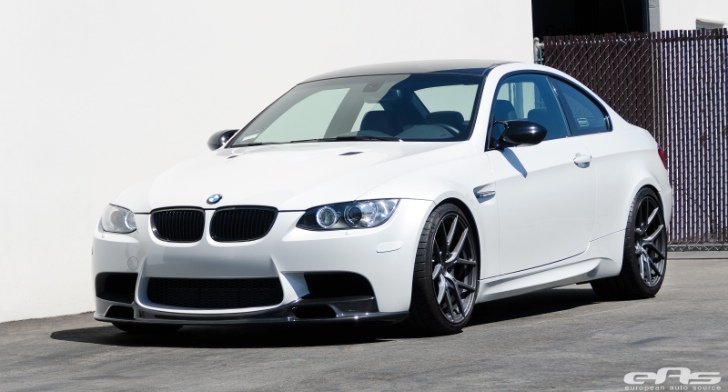 Mineral White M3 Goes for Vorsteiner at EAS [Photo Gallery]
