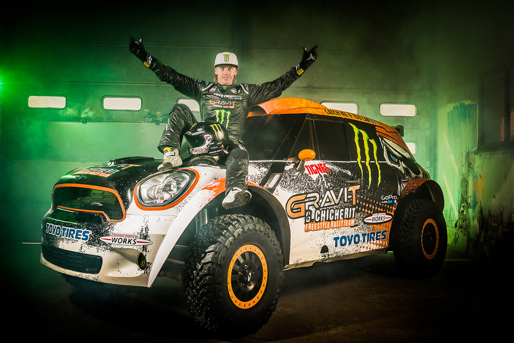 MINI and Chicherit to Break World Record for Longest Car Jump on ...
