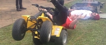 Mini ATV Painful Win – Fail Combo [Video]