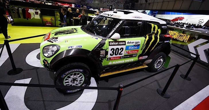 MINI Brings Out the Big Guns at Geneva 2013