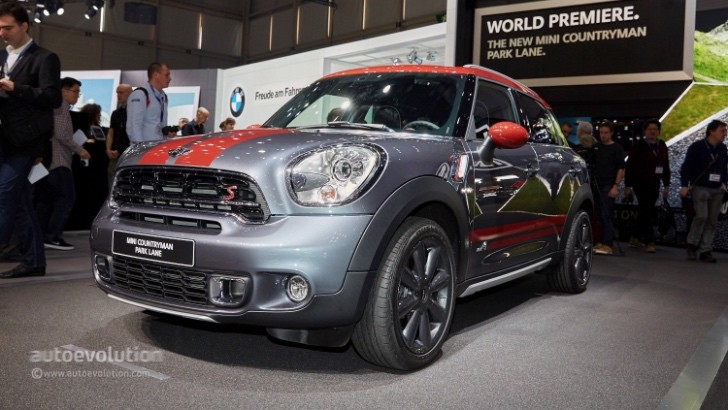 Mini Brings Out The Surprising Countryman Park Lane Edition In Geneva Autoevolution