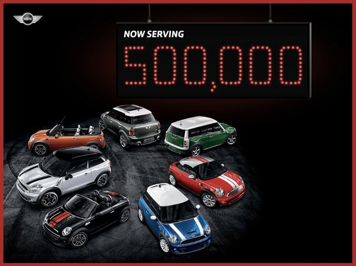 MINI Celebrates 500,000 Cars Sold in US