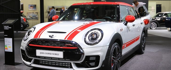 Mini Clubman John Cooper Works Arrives In Paris With Awd