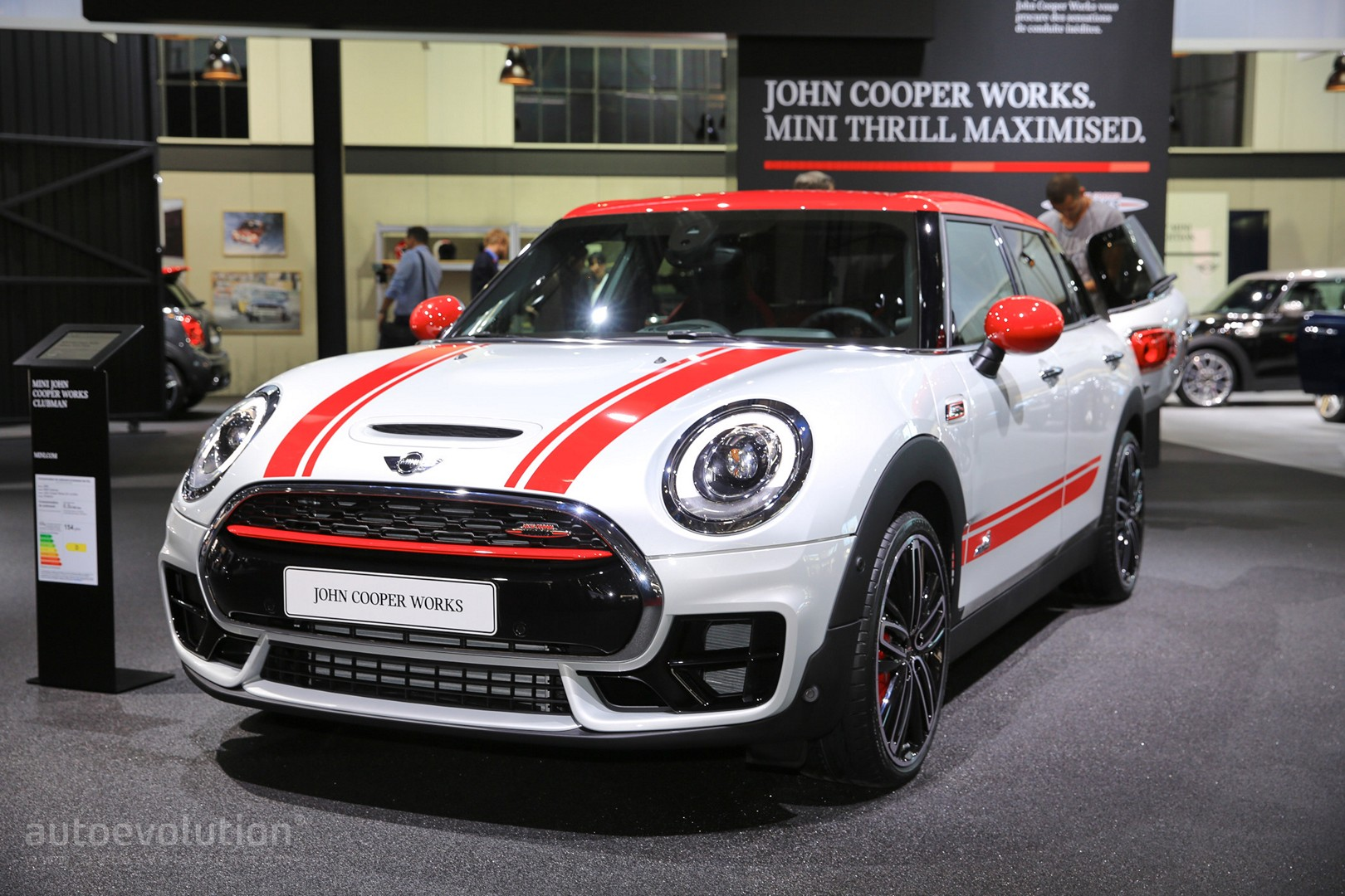 Mini Clubman John Cooper Works Arrives In Paris With Awd And 231 Hp