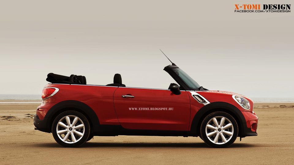 Mini Cooper Paceman Cabrio A Possible Future Model Autoevolution