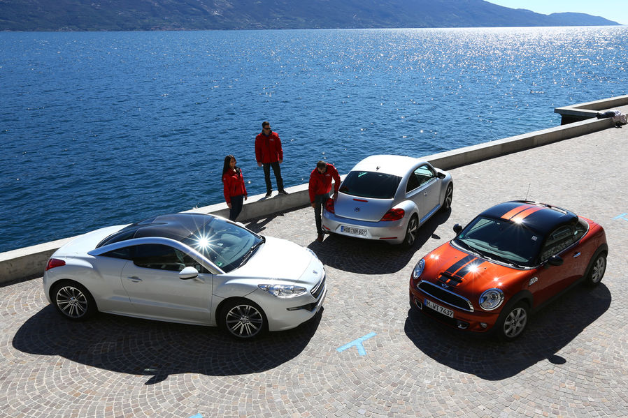Mini Cooper Sd Vs Peugeot Rcz Vs Vw Beetle Showdown Autoevolution