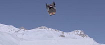 MINI Countryman Backflips onto Snow Ramp [Video]