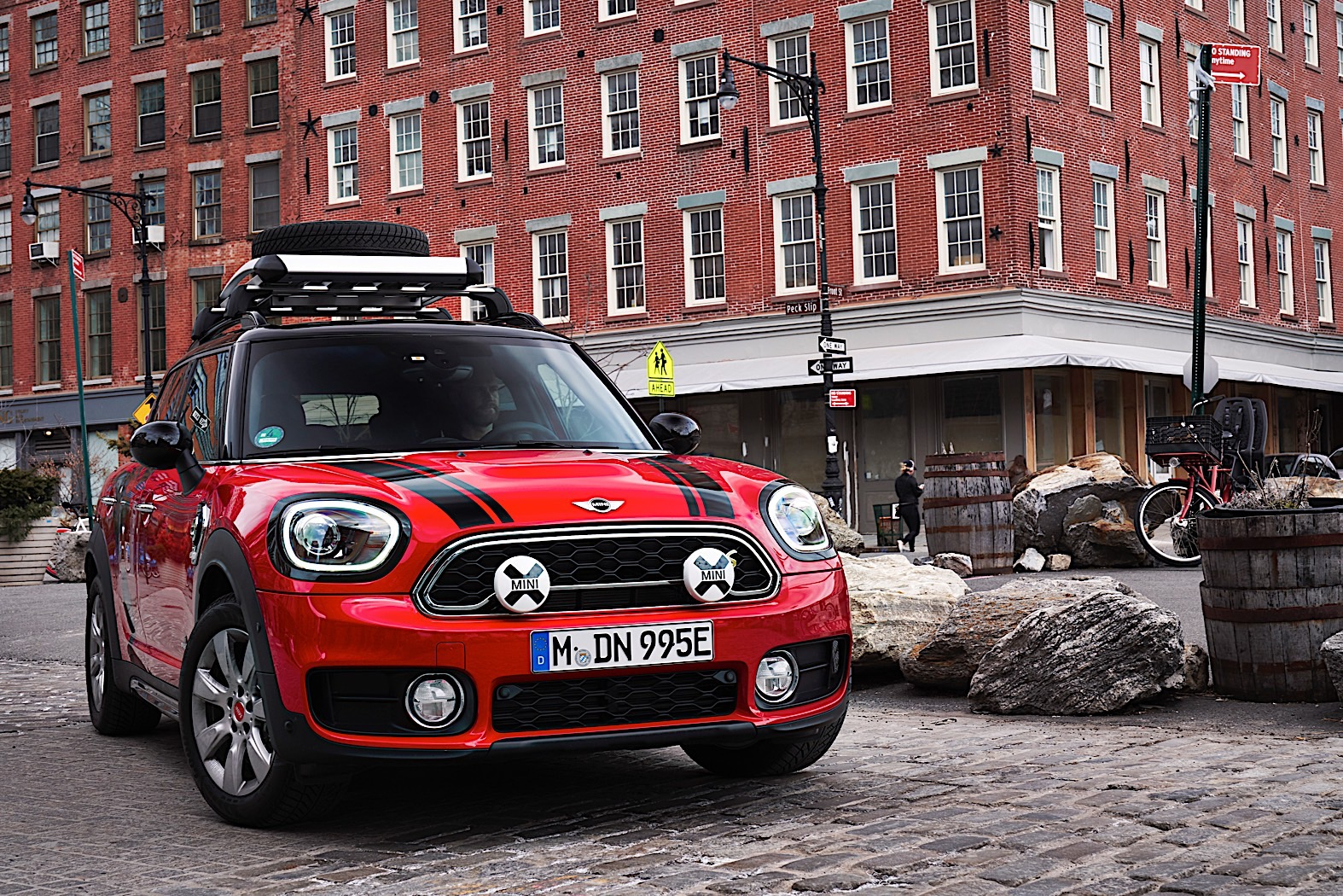 MINI Countryman Panamericana Plug-in Hybrid is ready for a road trip
