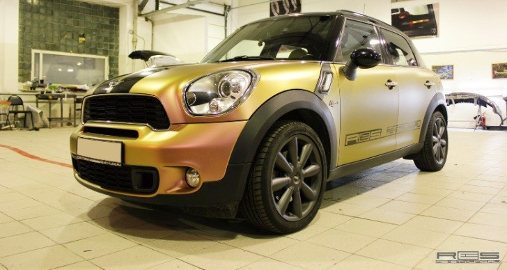 MINI Countryman Wrap: Copper Chameleon [Photo Gallery]