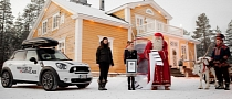 MINI Delivers Record Breaking Wish List to Santa Claus in Countryman
