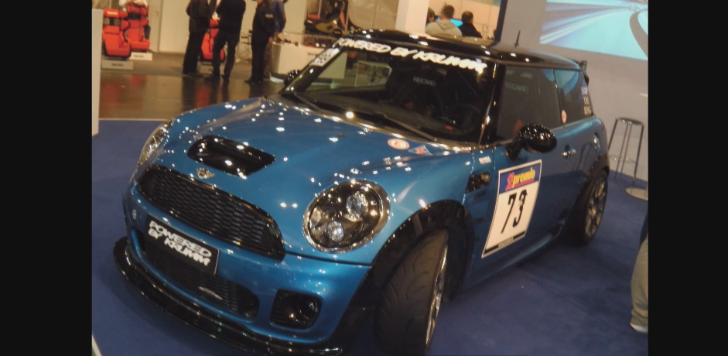 MINI JCW by Krumm Motors Shows Up at Essen [Live Video]