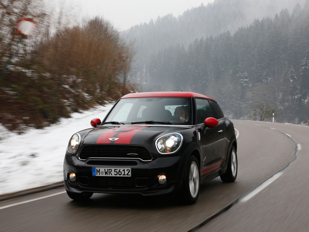 mini jcw paceman all4 first drive by theautochannel autoevolution. Black Bedroom Furniture Sets. Home Design Ideas
