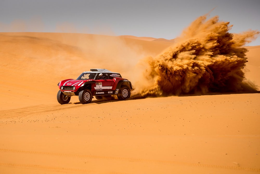 Mini John Cooper Works introduces Dakar Rally challengers