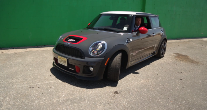 MINI John Cooper Works GP Reviewed on a Kart Circuit [Video]