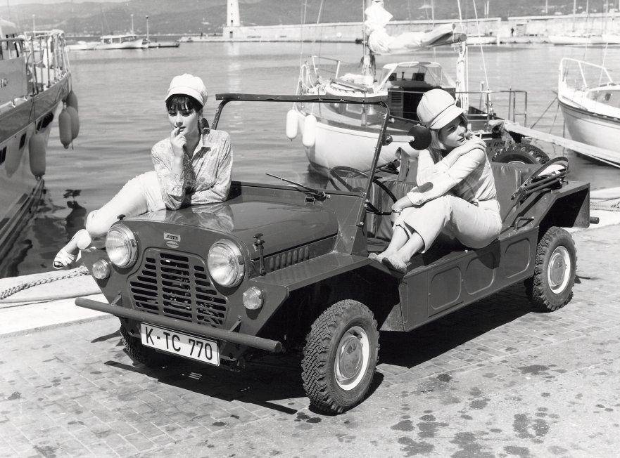 Mini Moke Revived By The Beachcomber Autoevolution