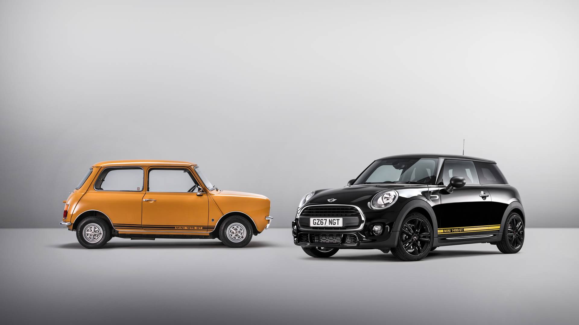 MINI One 1499 GT special edition (UK model) and Mini 1275 GT ...