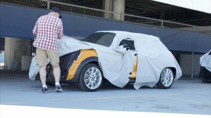 MINI Outraged by Leaked Spyshots of Upcoming Cooper S