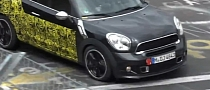MINI Paceman Cooper S Spied at Nurburgring [Video]