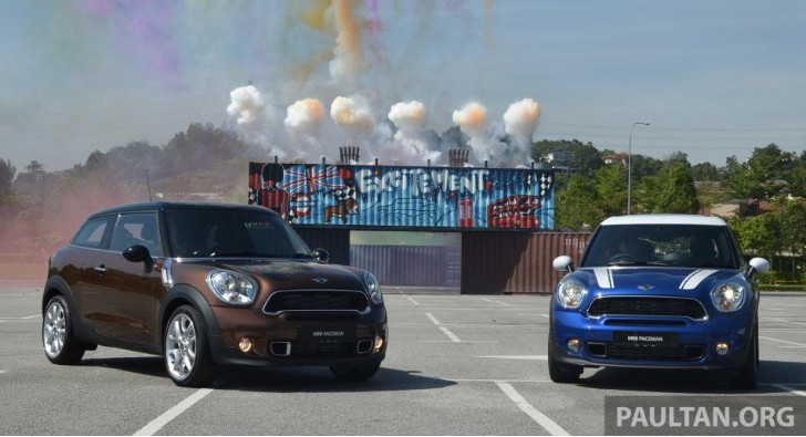 MINI Paceman Launched in Malaysia. Only Cooper S Available