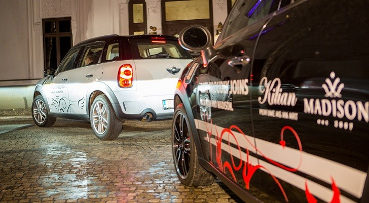 MINI Paceman Meets MINI Countryman in an Exotic Showdown [Photo Gallery]