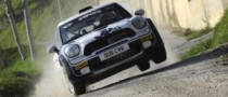 MINI Scores First Rally Win Since Return, in Italy