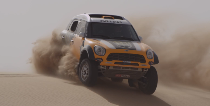 MINI Seeks Third Dakar Title in 2014 [Video]